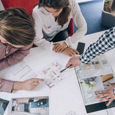 Votre projet immobilier pris en charge par notre équipe